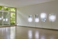 <p>Exhibition view, <em>White Noise</em>, 2015<br /> Kunsthaus Glarus, CH<br /> Image: David Aebi</p>