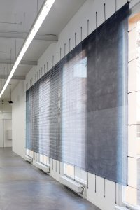 <p><em>(sic)</em>, 2013<br /> mesh tarpaulin, digital print<br /> 300 × 1200 cm<br /> Kunsthaus Baselland, Muttenz, CH</p>